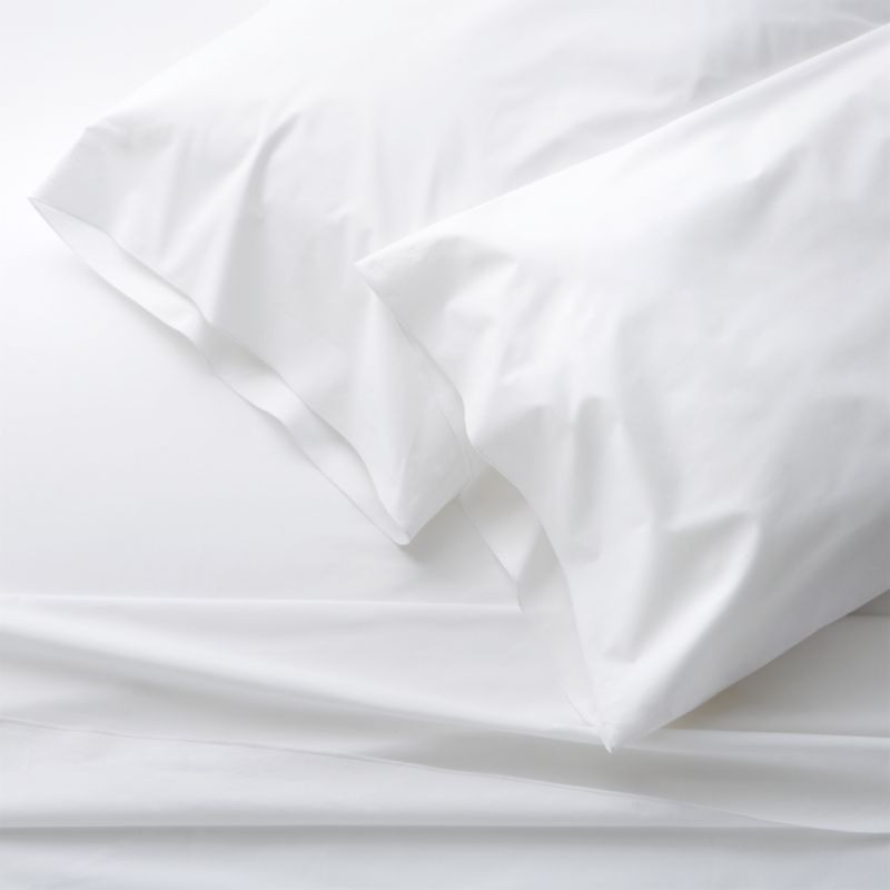 Belo White Queen Sheet Set