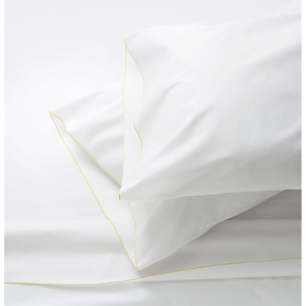 Belo Yellow Queen Sheet Set