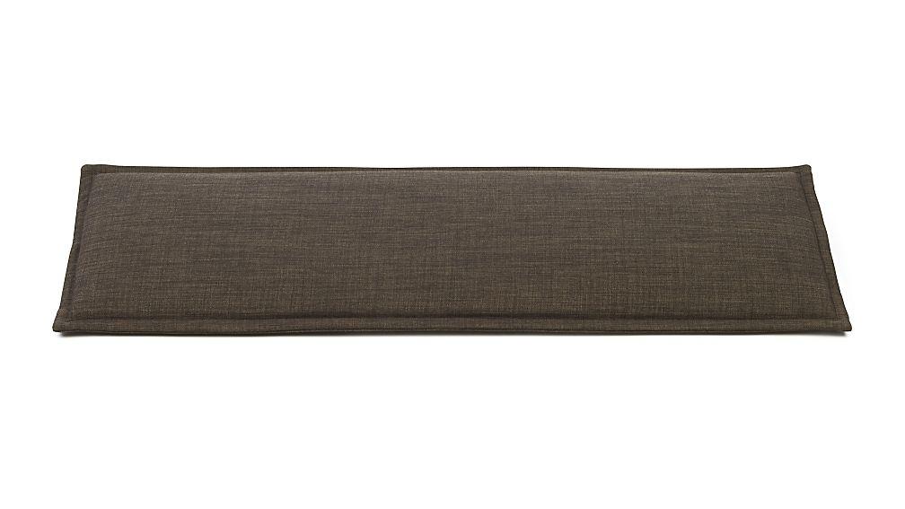 Boardwalk Andes Dark Granite Bench Cushion In Entryway