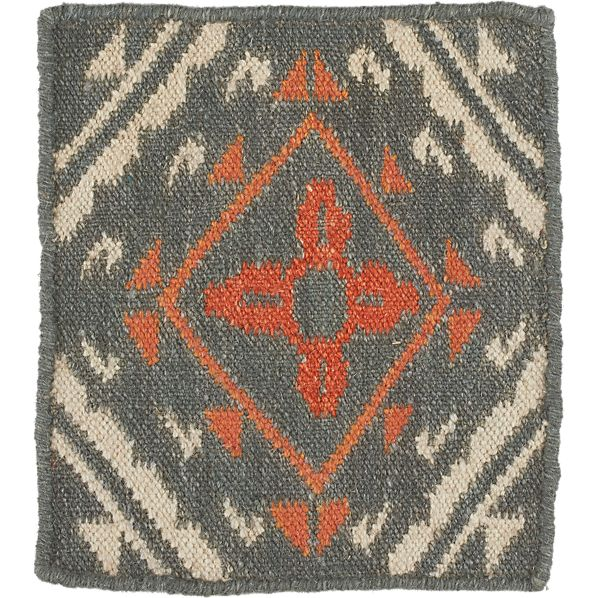 "Bessie Wool 12"" sq. Rug Swatch"