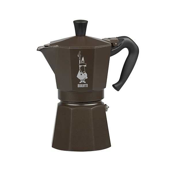 Italian Coffee Maker ~ Bialetti moka cup espresso maker crate and barrel