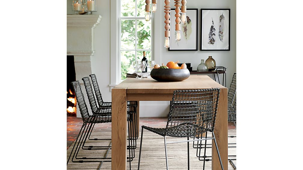 """Big Sur Natural 90.5"""" Dining Table"""