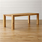 "Big Sur Natural 90.5"" Dining Table."