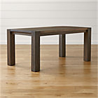 "Big Sur Charcoal 65"" Dining Table."