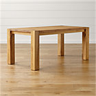 "Big Sur Natural 65"" Dining Table."