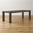 "Big Sur Charcoal 90.5"" Dining Table."