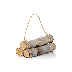 Set of 3 Birch Logs