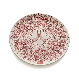 Red Birds Plate