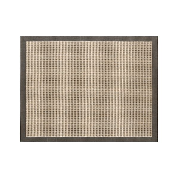 Biscayne Black 8'x10' Indoor-Outdoor Rug