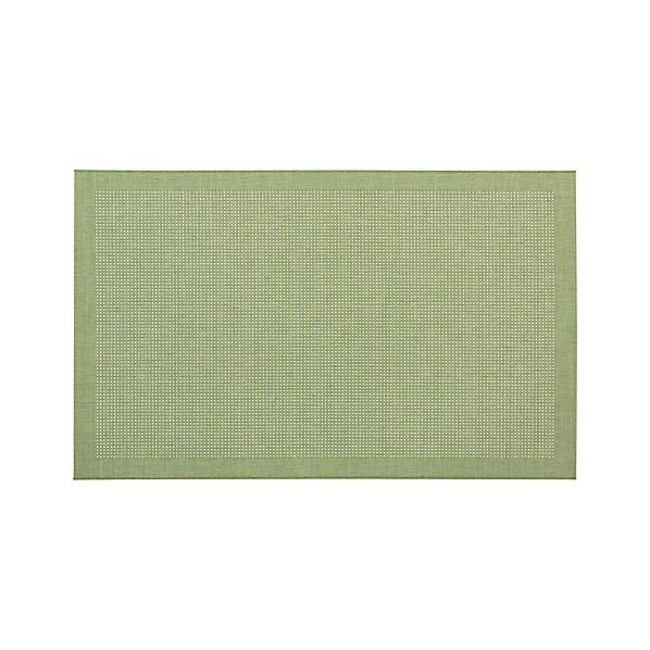 Biscayne Kiwi 5'x8' Indoor-Outdoor Rug