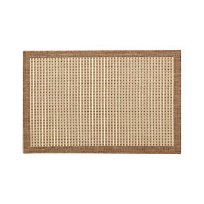 Biscayne Pecan 2x3 Indoor-Outdoor Rug