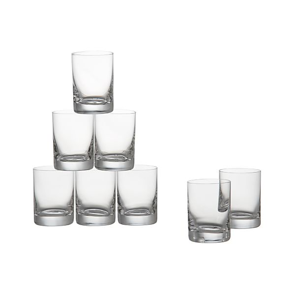Bitty Bite Tall Glasses Set of Eight