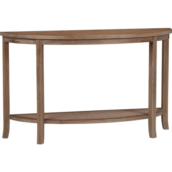 Blake Grey Wash Console Table