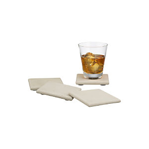 Blanco Sandstone Coasters Set of Four