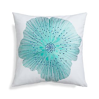 "Bloom Cool 20"" Pillow with Down-Alternative Insert"
