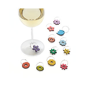 Blossom Wine Charms Set of 12