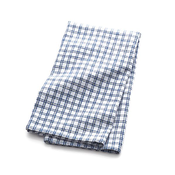 Blue Grid Dishtowel