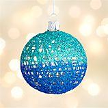 Fishnet Ball Ornament