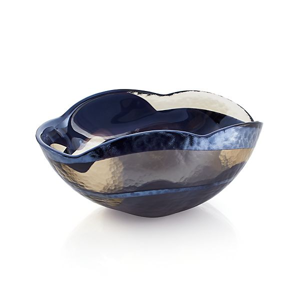 Blue Small Petal Bowl