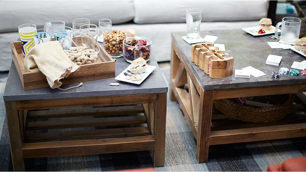 Bluestone Square Coffee Table