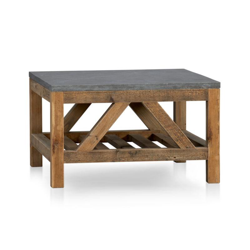 Bluestone Coffee Table | Crate and Barrel