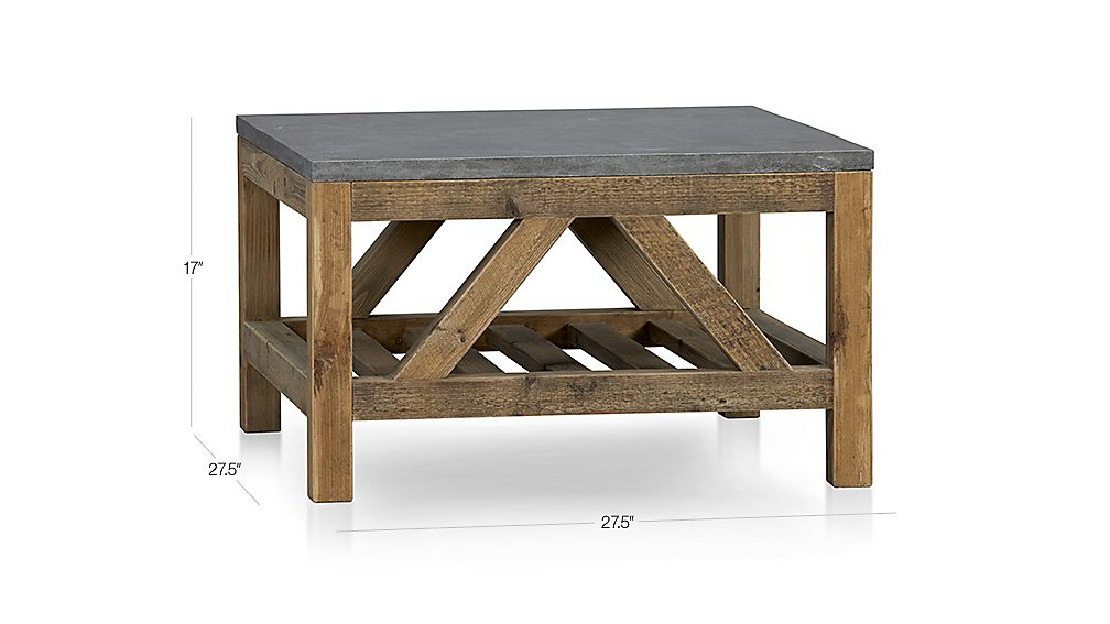 Bluestone Coffee Table Dimensions