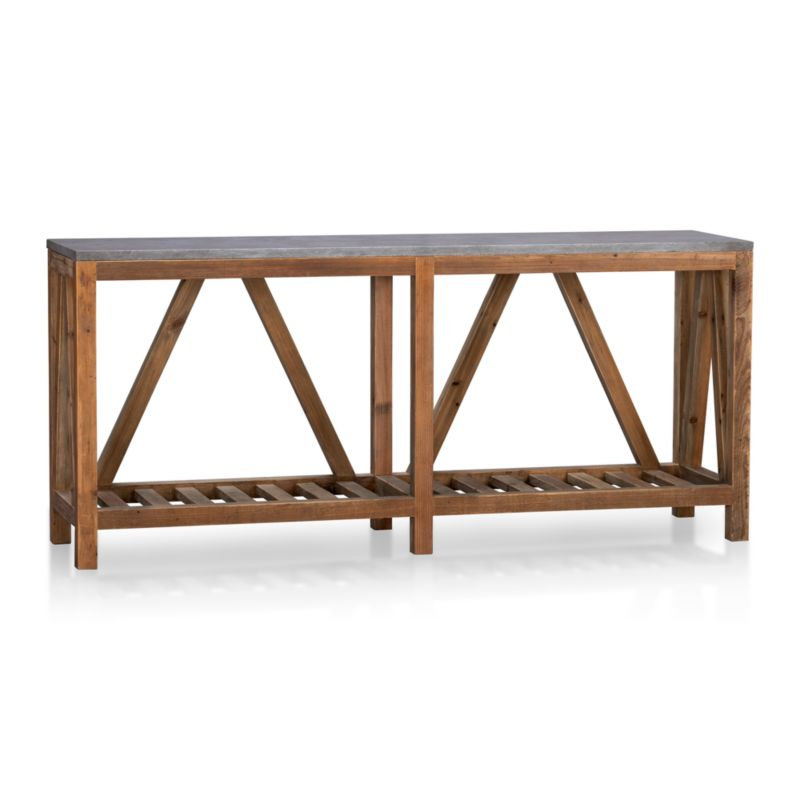 Bluestone Console Table In Coffee Tables Side Tables