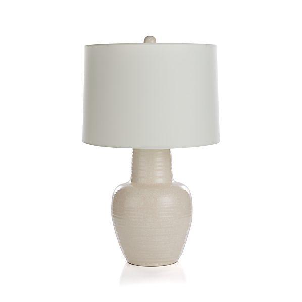 blythe table lamp crate and barrel. Black Bedroom Furniture Sets. Home Design Ideas