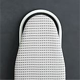 Tabletop Ironing Board Cover with Grey Dot Pad