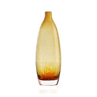 Bolla Medium Orange Vase