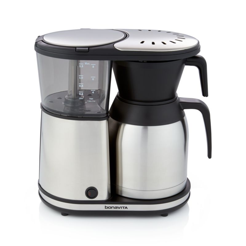 Bonavita Coffee Maker Maintenance : Bonavita 8-Cup Coffee Maker Crate and Barrel