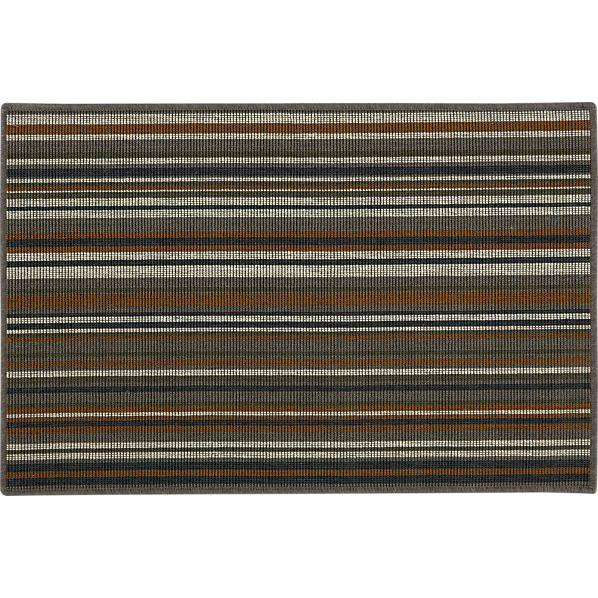 Stripe Neutral Bouclé Rug