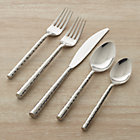 Boulder 20-Piece Flatware Set: four 5-piece place settings.