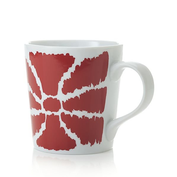 Red Bow Mug