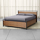Bowery Queen Storage Bed.