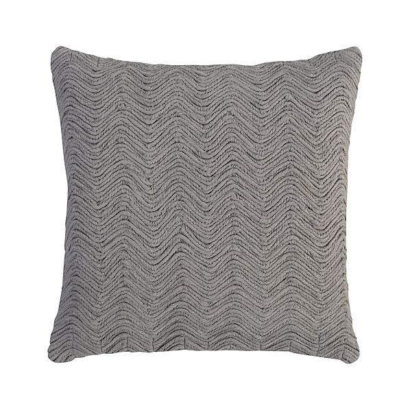 "Braid Ash 18"" Pillow"