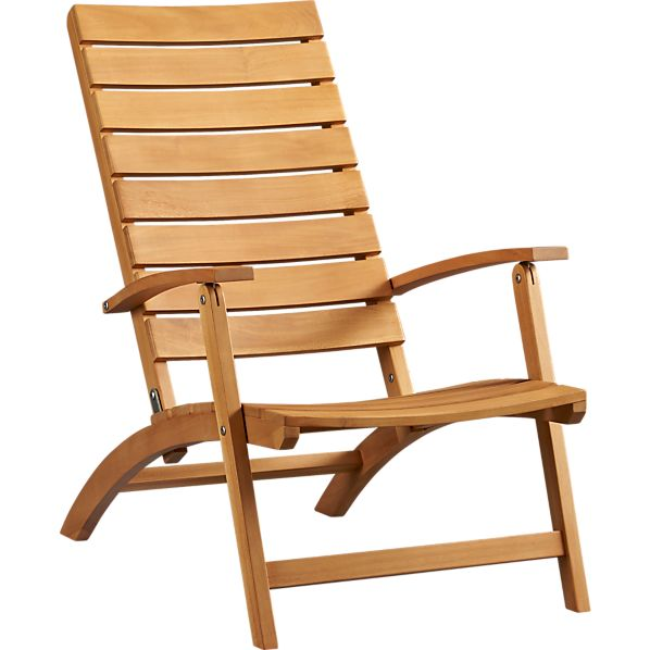 Brant Natural Folding Chair