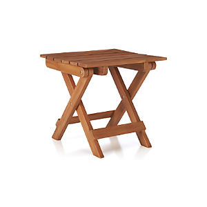 Brant Natural Folding Table