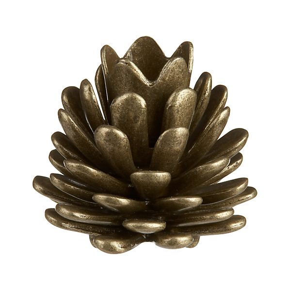 Pinecone Candleholder