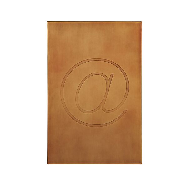 Brass Symbol @ Wall Art