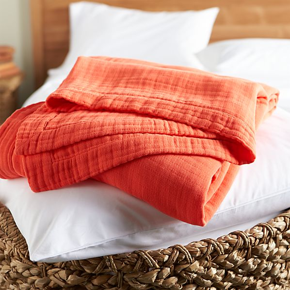 Breezy Coral Full-Queen Blanket