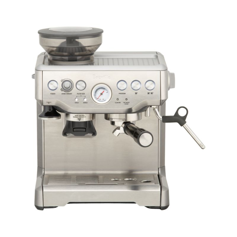 Breville Barista Espresso Machine Crate and Barrel