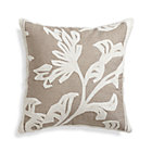 Briar Natural Pillow with Feather-Down Insert.