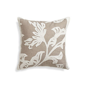 "Briar Natural 18"" Pillow"