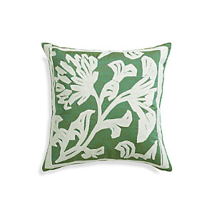 "Briar Green 20"" Pillow"