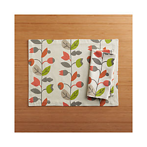 Briar Placemat and Briar Napkin