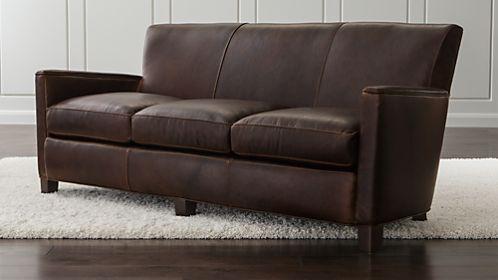 Briarwood Leather Sofa