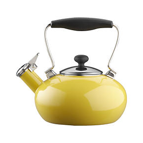 Chantal® Yellow Bridge Teakettle