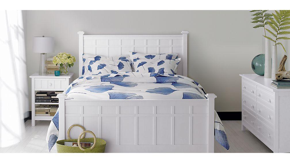 Brighton White Full Bed