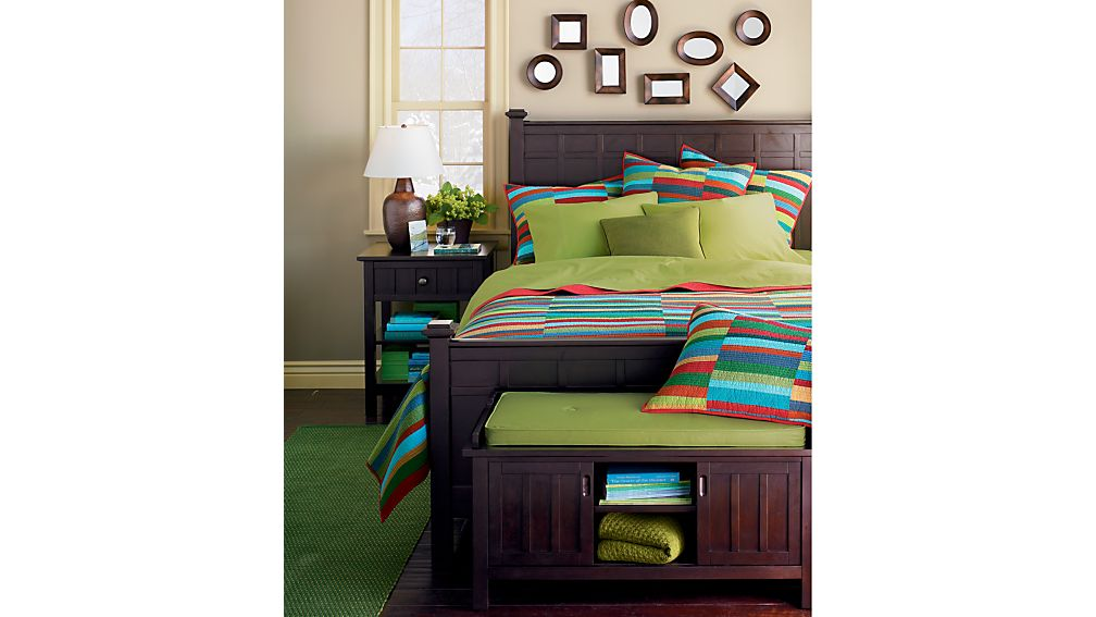 Brighton Coffee Twin Bed